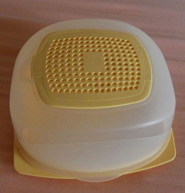 Tupperware Käseglocke mit Geruchsfilter 8058A-2