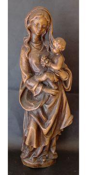 Madonna Mutter Gottes Holzfigur 36