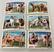 Hunde Briefmarken