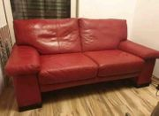 Musterring Leder Sofa Couch 2