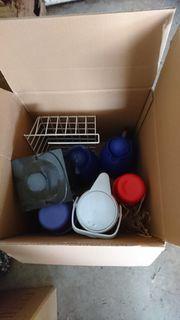 Flohmarkt Kisten zu verschenken