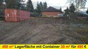 Außenplatz Lagerfläche Lagerplatz Platz Grundstücksfläche