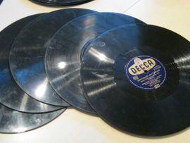 Bild 4 - Alte Schallack-Schallplatten aus den 50er - Gerlingen Gehenbühl
