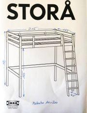 IKEA STORÅ Hochbett Etagenbett Stockbett