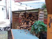 Überdachung für Holz