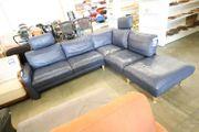 Sofa Couch blau L-Form - HH28701