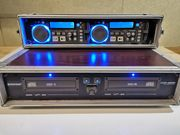 DJ Scratch Doppel CD-MP3-Player Omnitronic