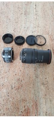 Teleobjektiv für Nikonkamera