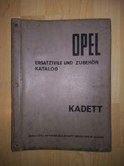 OPEL Kadett A Ersatzteilkatalog