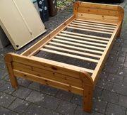 Kiefer-Bett 2x1 m mit oder