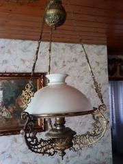 Tolle Lampe Petroleum alt auf