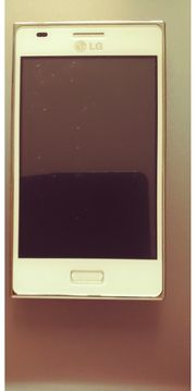 LG E-620 OPTIMUS weiss