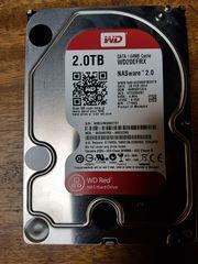 Festplatte 2TB WD RED