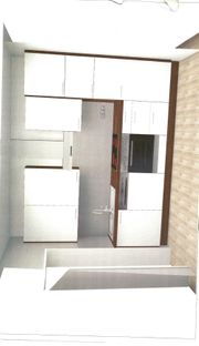 Küchenblock Einbauküche Küchenzeile Singleküche zu
