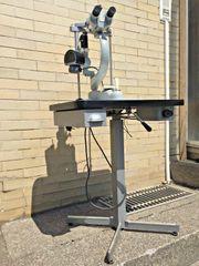 Irisdiagnose Iris Mikroskop Spaltlampenmikroskop Heilpraktiker
