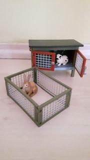 Schleich Kaninchen - und Meerschweinchen - Stall
