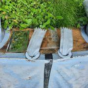 Schlauchboot mit Holzboden