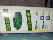 originalverpackter Sonnenschirm 3 m Durchmesser