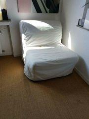 Ausklappbares Schlafsofa von Ikea