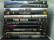 Viele DVDs Action Thriller Kömödien