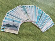 Quartett Schiffe Marine Kartenspiel FX