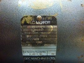 Geräte, Maschinen - Vakuumpumpe Edwards ES200