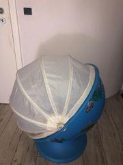 Ikea Lömsk Kinder Drehstuhl Blau