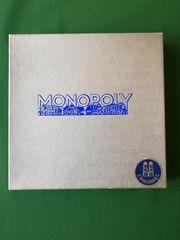 Monopoly-Spiel eines der ersten quadratisch
