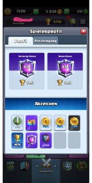 Mega Clash Royale Acc Level