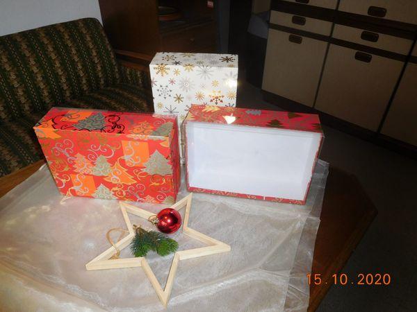 Geschenkkarton Weihnachten