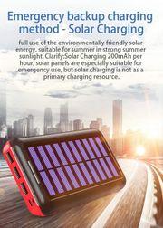 Powerbank Solar 24000mAh Solar Ladegerät
