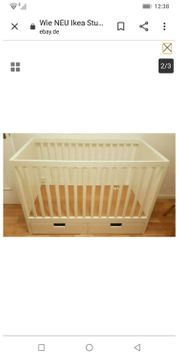 Babybett Stuva von Ikea