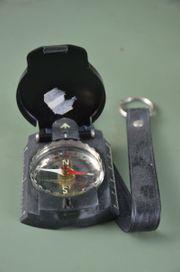Kompass nie benutzt neuwertig schwarz