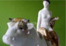 Glas, Porzellan antiquarisch - Ankauf KPM Figur Porzellan figuren