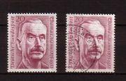 Briefmarken BRD - zum Todestag von