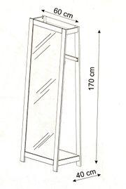 NEU Garderobe mit Spiegel Garderobenständer