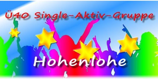 Ü40 Singles Aktivgruppe Hohenlohe