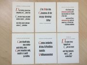 6 Religiöse Postkarten von Sören