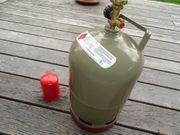 5 kg Propan Gas-Flasche gefüllt