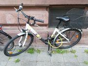 Mädchen City Bike weiss mit