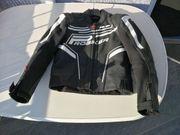 Probiker Herren Motorradbekleidung schwarz
