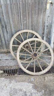 Räder von Ackerwagen