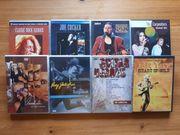 Verschiedene Musik DVD s