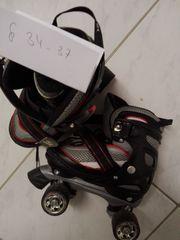 Rollschuhe Gr 34-37 verstellbar