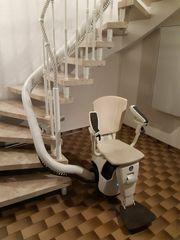 Treppenhauslift Thyssen-Krupp Flow2 sehr gut