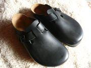 Neue Birkenstock Boston Clogs schwarz