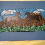 Künstlerbild Pferde