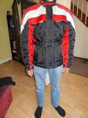Out Door Textil Motorradjacke Größe