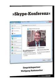 Schnelle schnelle Skype Video-Konferenz mit