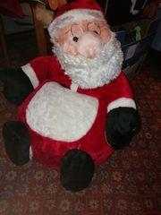Kindersitz Weihnachtsmann innen ist ein